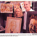 Coffee Art® featured in the Duluth News Tribune article 'Expression of Espresso'