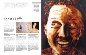 Konst i kaffe