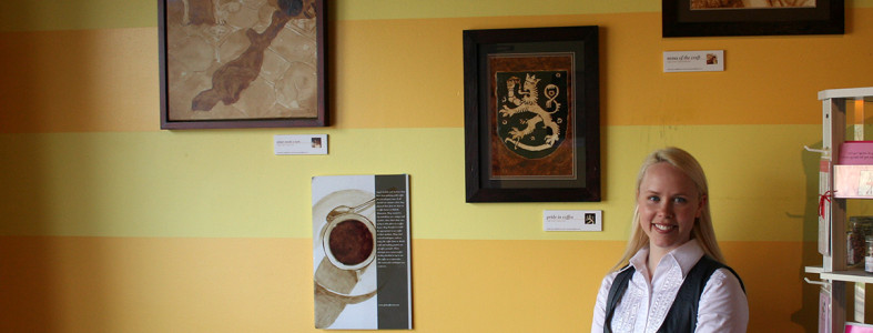 Coffee Art® Exhibition at Sisu Café