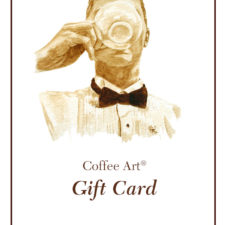 Coffee Art Gift Card