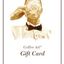Coffee Art Gift Card