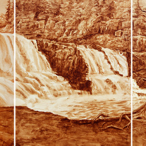 Gooseberry Falls Triptych