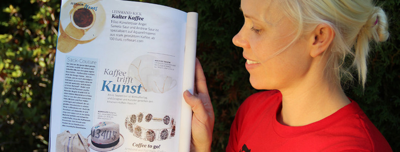 Coffee Art FürSie Magazine Article