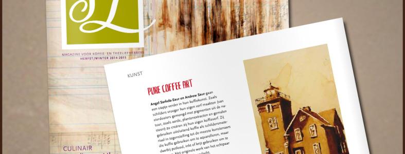 Coffee Art Simon Levelt Magazine