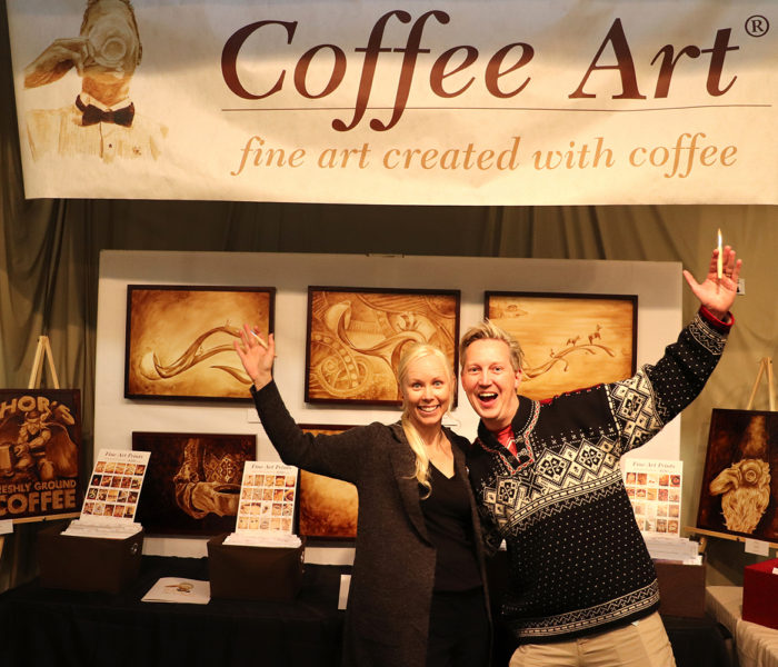 Coffee Art - Norsk Hostfest
